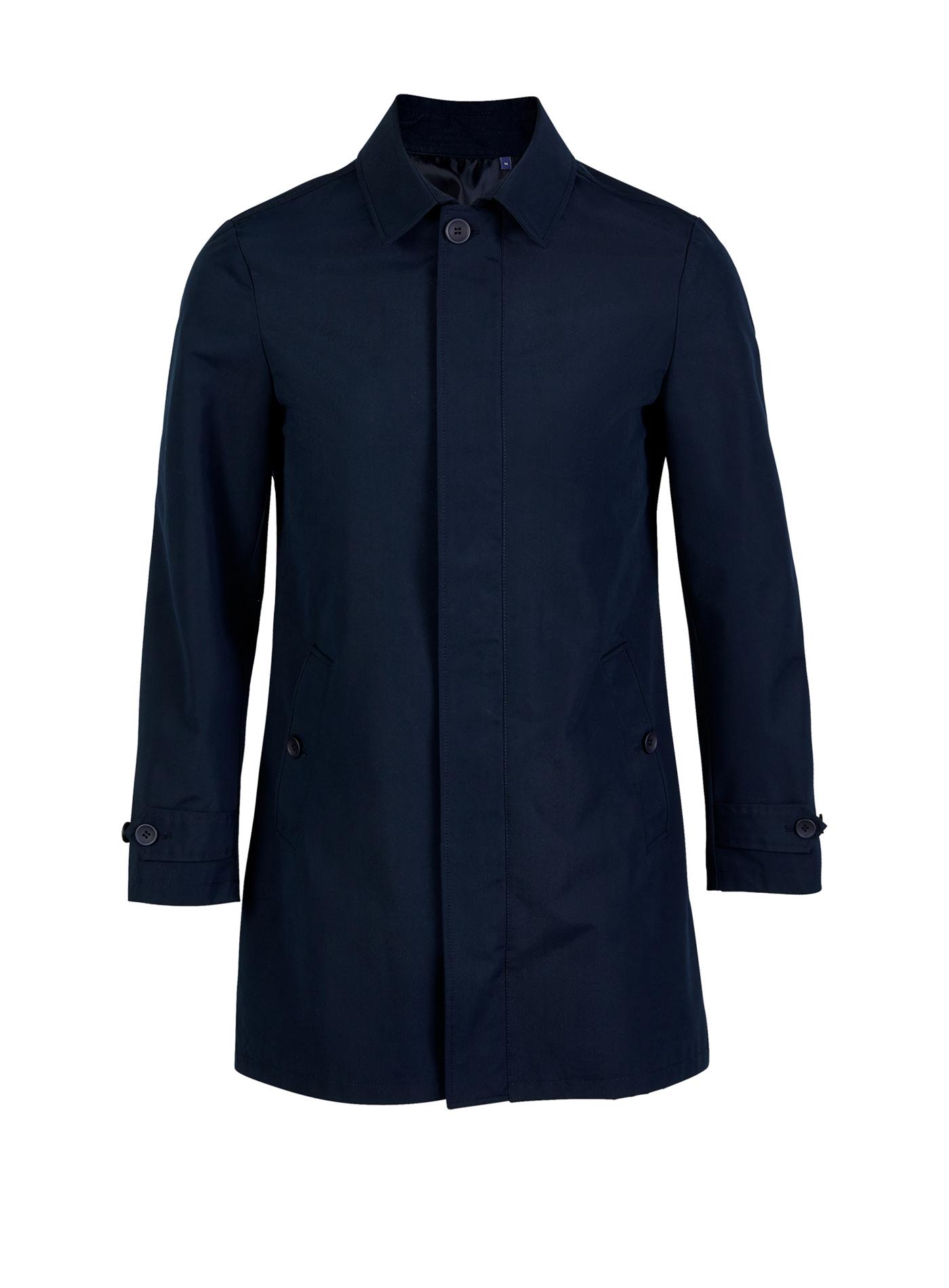 Pánský krátký kabát Alfred - Temně modrá S